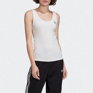 ביגוד Adidas Originals לנשים Adidas Originals Tank Top - לבן