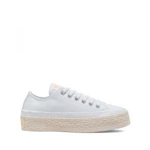 נעליים קונברס לנשים Converse Chuck Taylor As Espadrille - לבן