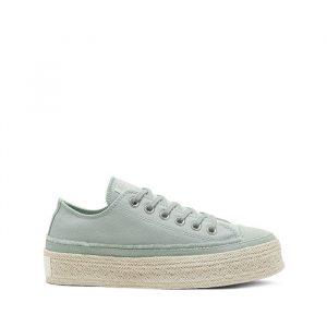 נעליים קונברס לנשים Converse Chuck Taylor As Espadrille - ירוק