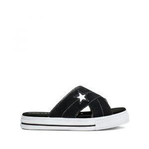 נעליים קונברס לנשים Converse One Star Sandal Slip - שחור