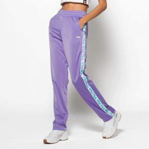 ביגוד פילה לנשים Fila Strap Track Pants - סגול