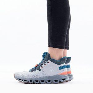 נעלי אימון און לנשים On Running Cloud Hi Edge - אפור
