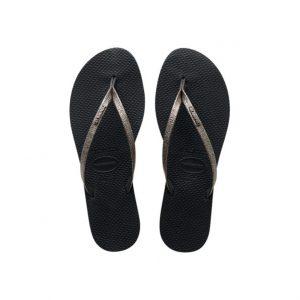 נעליים הוויאנס לנשים HAVAIANAS You Shine - שחור