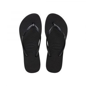 נעליים הוויאנס לנשים HAVAIANAS Slim Flatform - שחור