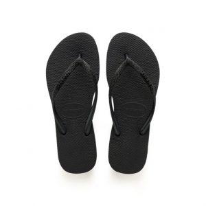 נעליים הוויאנס לנשים HAVAIANAS Slim Glitter - שחור