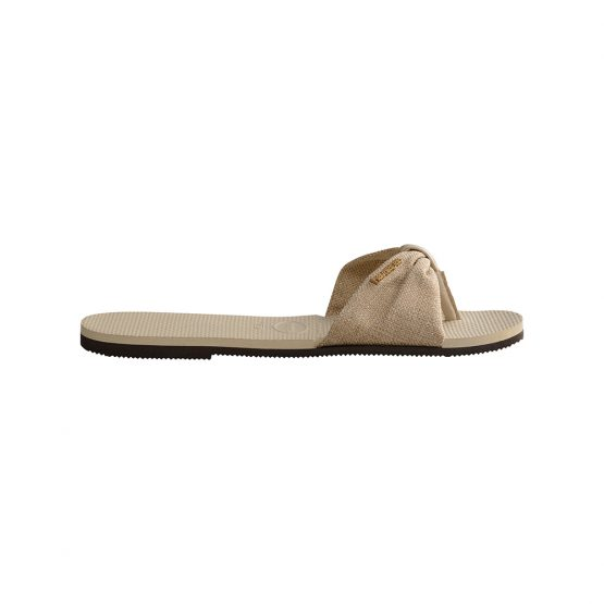 נעליים הוויאנס לנשים HAVAIANAS You St Material - בז'