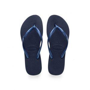 נעליים הוויאנס לנשים HAVAIANAS slim - כחול כהה