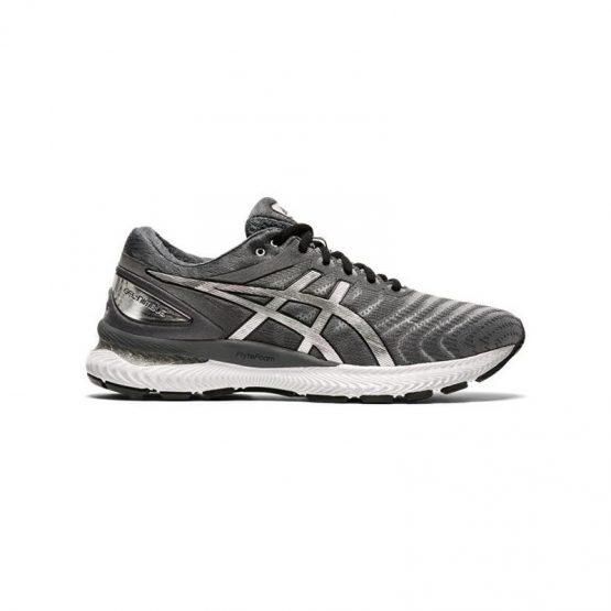 נעלי ריצה אסיקס לגברים Asics GEL-Nimbus 22 Platinum - אפור