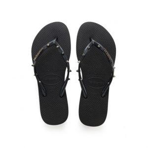 נעליים הוויאנס לנשים HAVAIANAS Slim Hardware - שחור