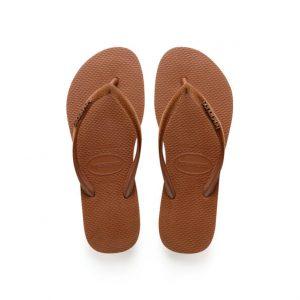 נעליים הוויאנס לנשים HAVAIANAS Slim Velvet - כתום