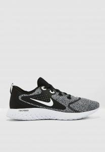 נעליים נייק לגברים Nike Legend React  - שחור/אפור