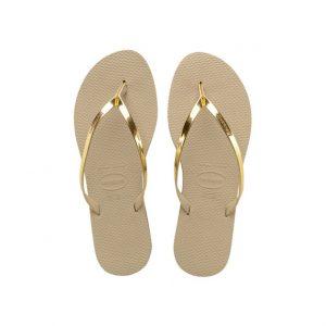 נעליים הוויאנס לנשים HAVAIANAS You Metallic - זהב