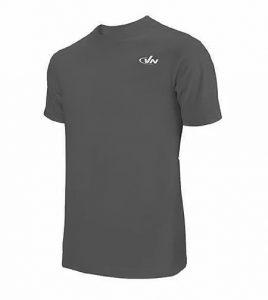 חולצת אימון VN לגברים VN Running T V1 - אפור כהה