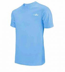 חולצת אימון VN לגברים VN Running T V1 - תכלת