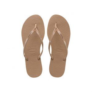 נעליים הוויאנס לנשים HAVAIANAS You Metallic - ורוד