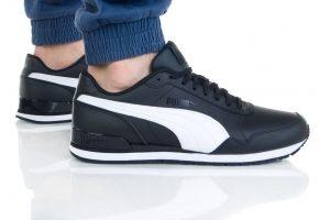נעליים פומה לגברים PUMA ST Runner v2 Mesh - שחור/לבן