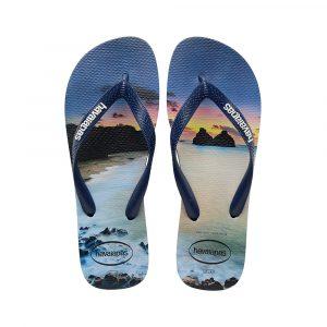 נעליים הוויאנס לגברים HAVAIANAS hype - כחול כהה