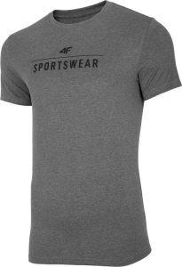 חולצת T פור אף לגברים 4F TSM005 - אפור כהה