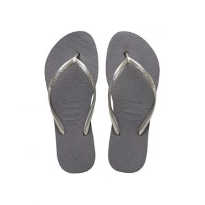 נעליים הוויאנס לנשים HAVAIANAS Slim Flatform - אפור