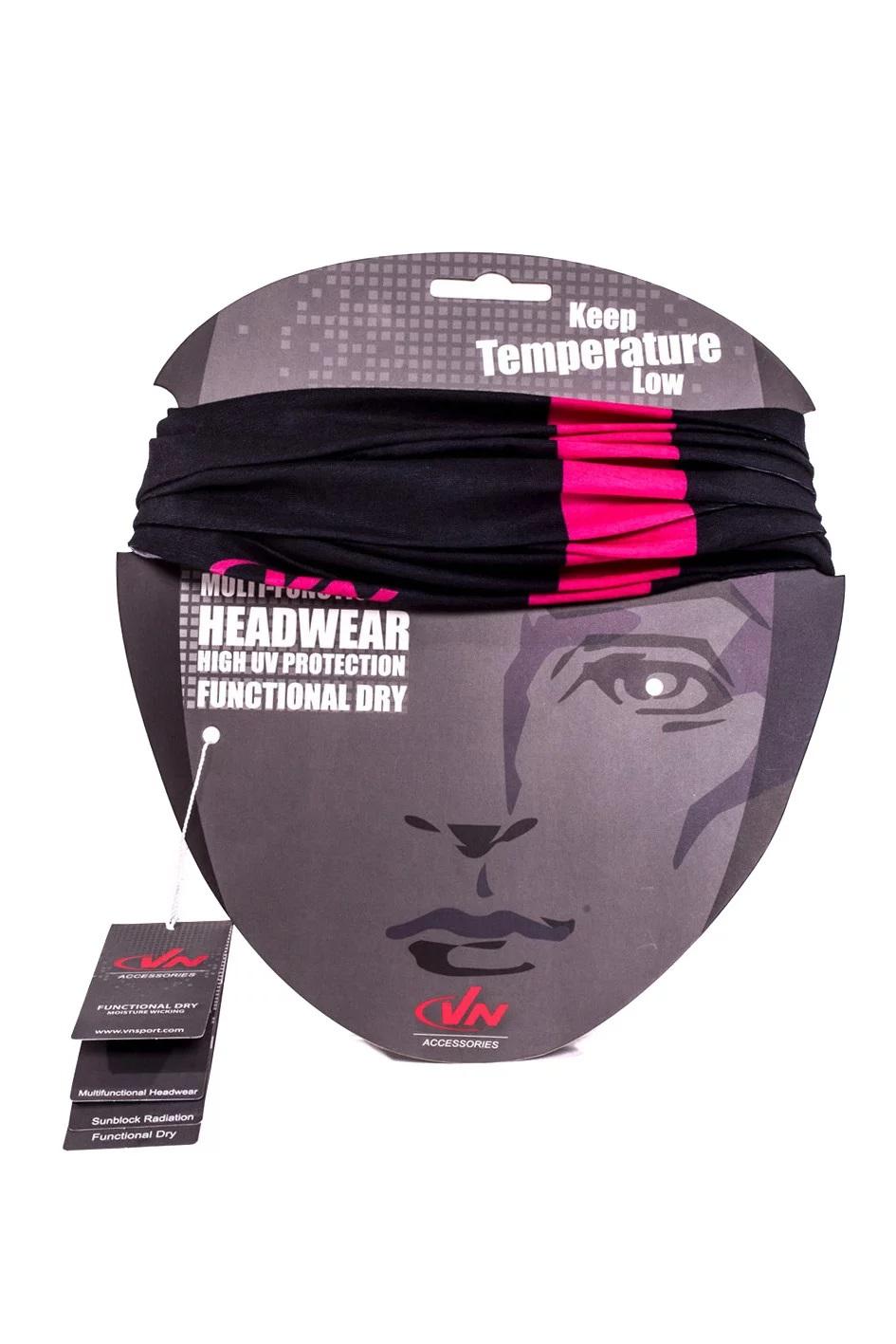 אביזרים VN לגברים VN MultiFunctional Headwear - שחור/ורוד