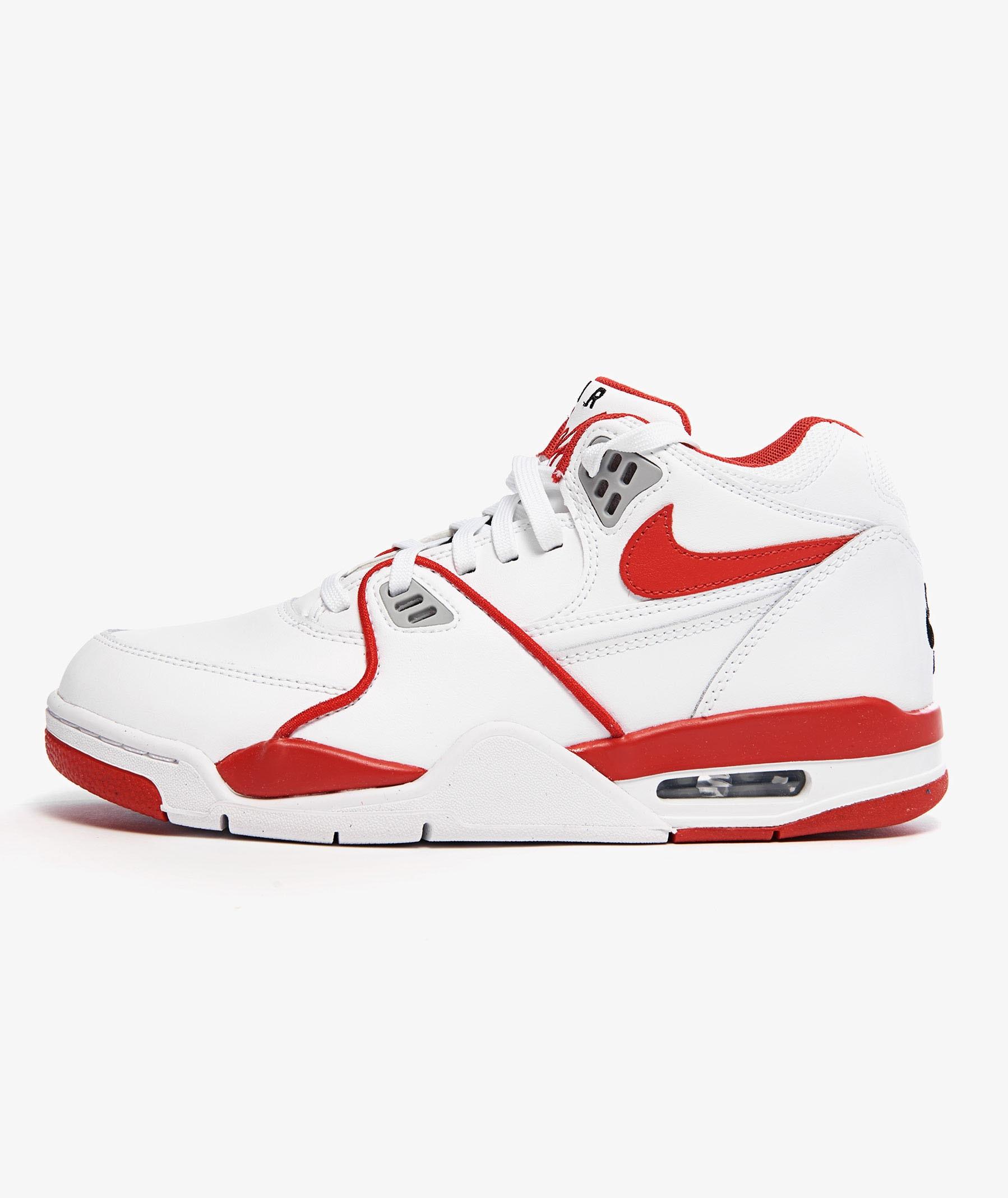 נעליים נייק לגברים Nike AIR FLIGHT - לבן/אדום