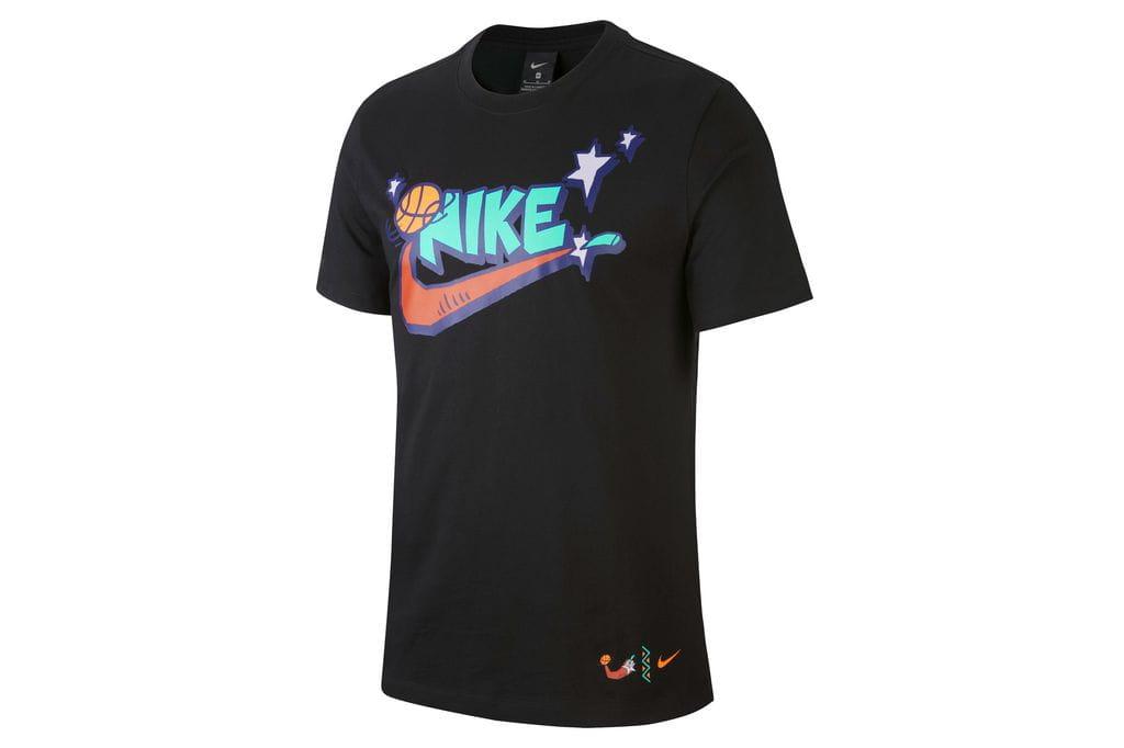 ביגוד נייק לגברים Nike TEE FUTURA SAN - שחור