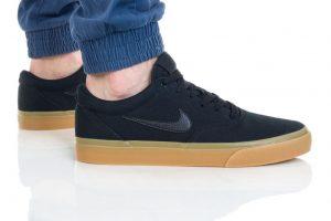 נעליים נייק לגברים Nike SB CHARGE SLR - שחור/חום