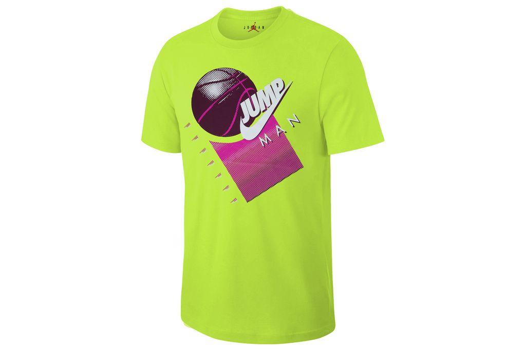 ביגוד נייק לגברים Nike MJ JUMPMAN BBALL - צהוב