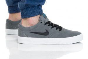 נעליים נייק לגברים Nike SB CHARGE SLR - אפור