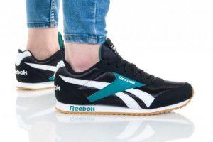 נעליים ריבוק לנשים Reebok ROYAL CLJOG 2 - שחורטורקיז
