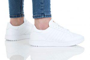 נעליים אדידס לנשים Adidas Team Court - לבן מלא