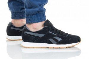 נעליים ריבוק לגברים Reebok ROYAL GLIDE - שחור/אפור