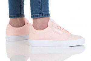 נעליים אדידס לנשים Adidas Continental Vulc - ורוד
