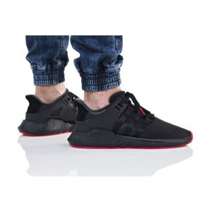 נעליים אדידס לגברים Adidas EQT SUPPORT 93_17 - שחור/אדום