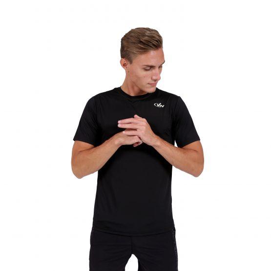 חולצת אימון VN לגברים VN Running T V1 - שחור
