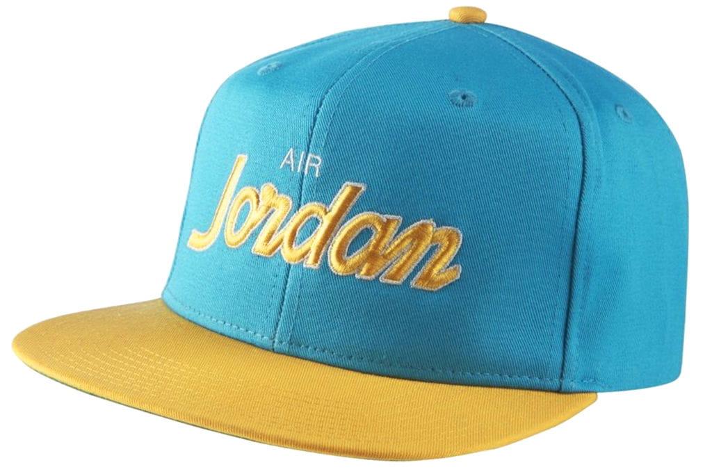 ביגוד נייק לגברים Nike JORDAN PRO SCRIPT - כחול/צהוב