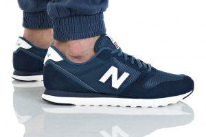 נעליים ניו באלאנס לגברים New Balance ML311 - כחול/לבן