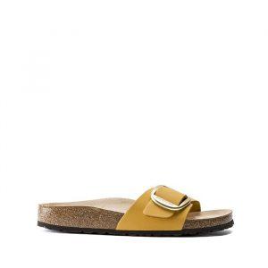 נעליים בירקנשטוק לנשים Birkenstock Madrid big buckle - צהוב