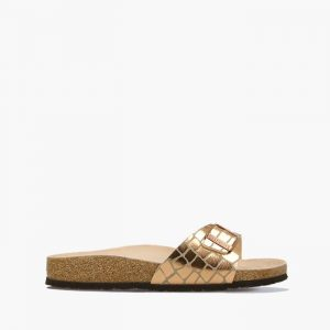 נעליים בירקנשטוק לנשים Birkenstock Madrid - זהבחום