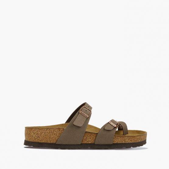 נעליים בירקנשטוק לגברים Birkenstock Flip-flop Mayari Black - חום