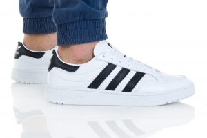 נעליים אדידס לגברים Adidas TEAM COURT - לבן/שחור