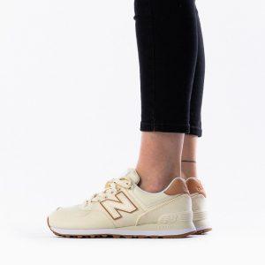 נעלי סניקרס ניו באלאנס לנשים New Balance WL574 - צהוב