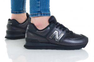 נעלי סניקרס ניו באלאנס לנשים New Balance 574 - שחור מלא