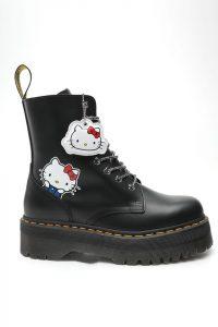 נעליים דר מרטינס  לנשים DR Martens JADON HELLO KITTY - שחור