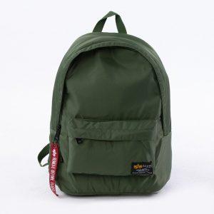 אביזרים אלפא אינדסטריז לגברים Alpha Industries Crew Backpack - ירוק
