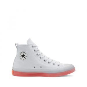 נעלי סניקרס קונברס לגברים Converse Chuck Taylor All Sat Cx High Top - לבן