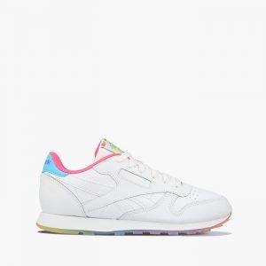 נעלי סניקרס ריבוק לנשים Reebok Classic Leather International - צבעוני/לבן