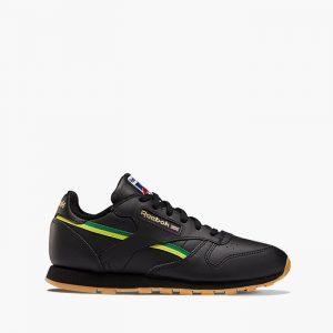 נעלי סניקרס ריבוק לנשים Reebok Classic Leather International - שחור