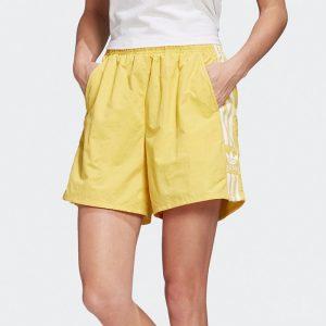 ביגוד Adidas Originals לנשים Adidas Originals SHORTS - צהוב