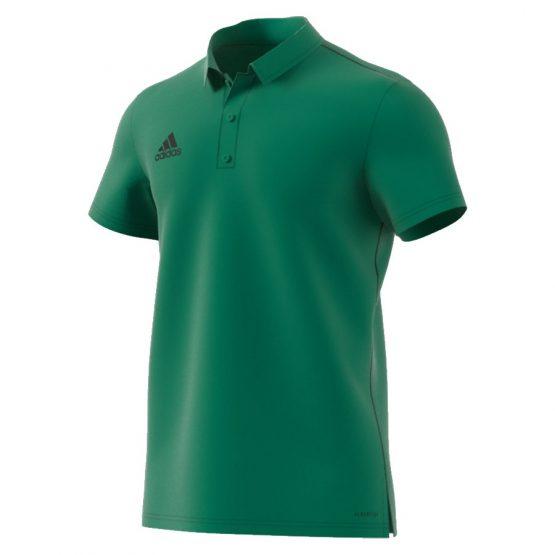 חולצת פולו אדידס לגברים Adidas Core 18 - ירוק